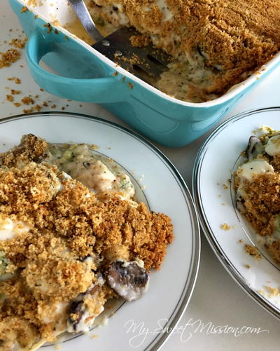 Mom's Chicken Broccoli Casserole