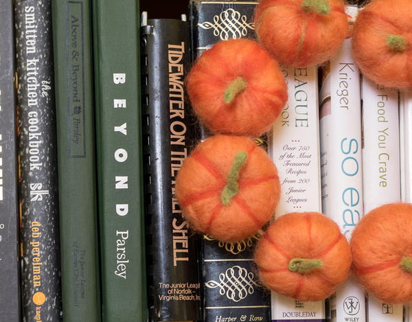 Mini Needle Felted Pumpkins