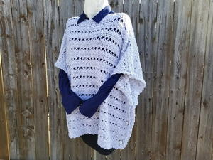 Light and Lacy Poncho