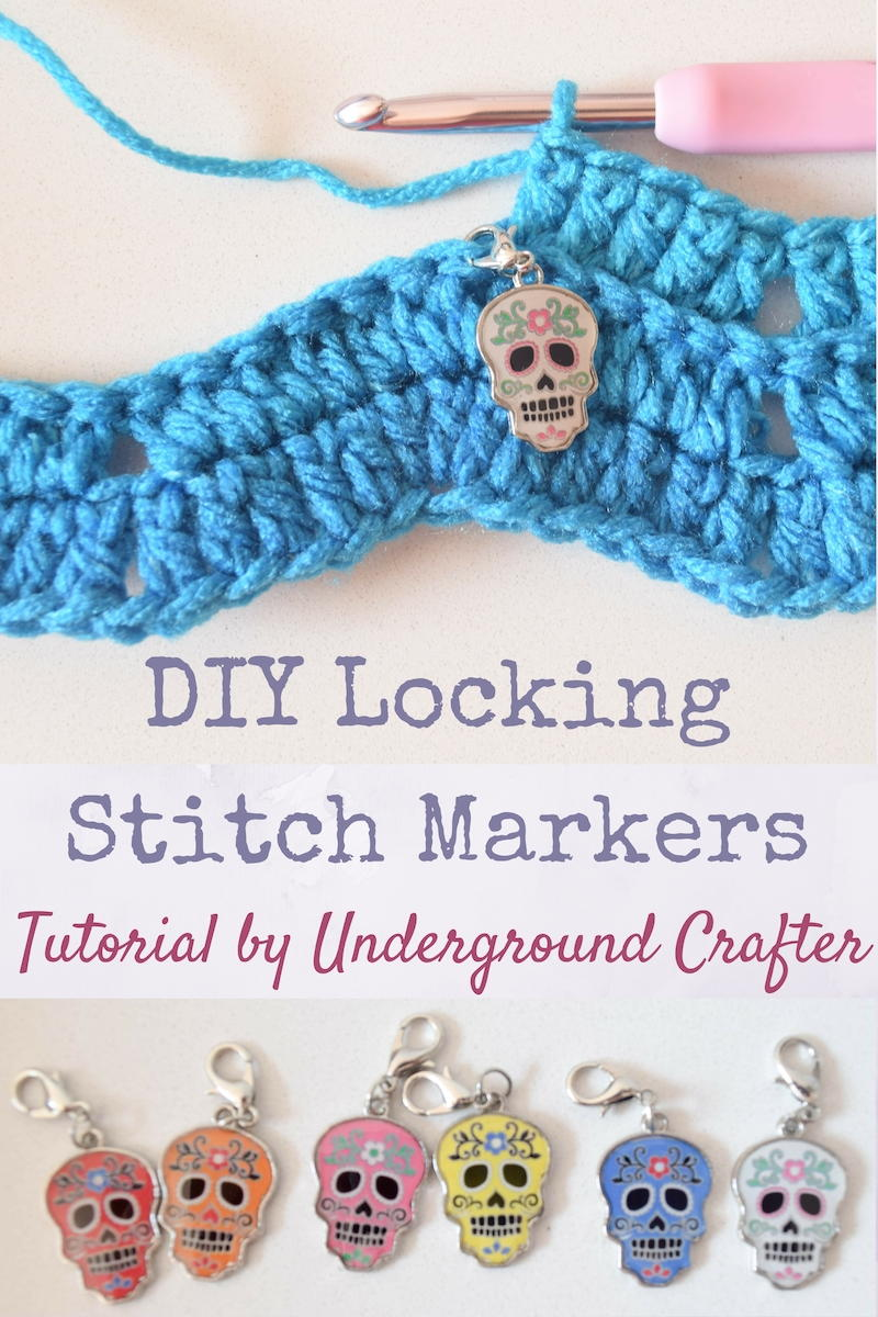 DIY Locking Stitch Markers for Crochet and Knitting FaveCrafts.com