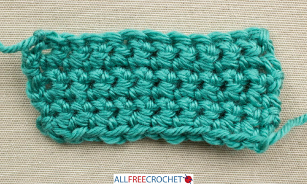 How to Count Crochet Rows - Single Crochet