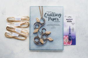 The Art of Quilling Paper Jewelry and Supplies Giveaway