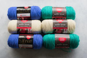 Stunning Red Heart With Love Yarn Bundle Giveaway