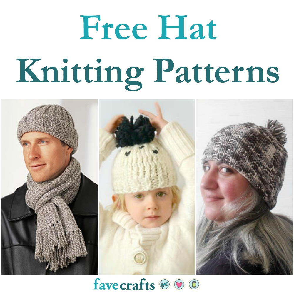 27 Free Hat Knitting Patterns | FaveCrafts.com