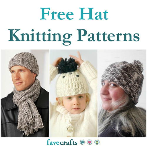 6827a030fe351 27 Free Hat Knitting Patterns