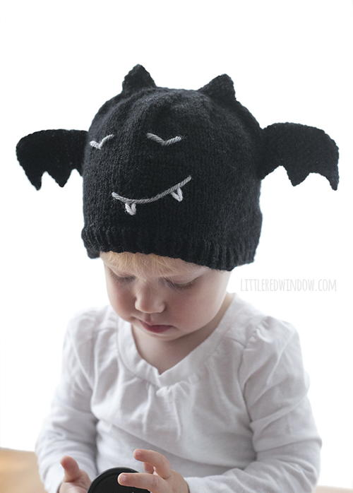 Bitty Bat Hat
