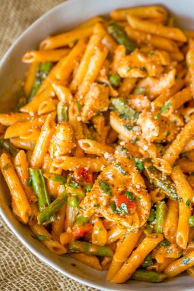 Spicy Chicken Chipotle Pasta from The Cheesecake Factory
