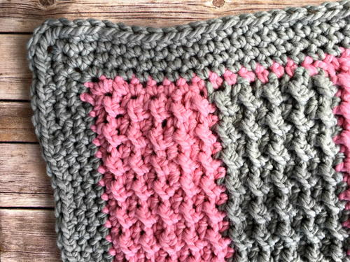Easy Weekend Crochet Baby Blanket