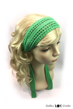 """Knit Girl"" Headband"