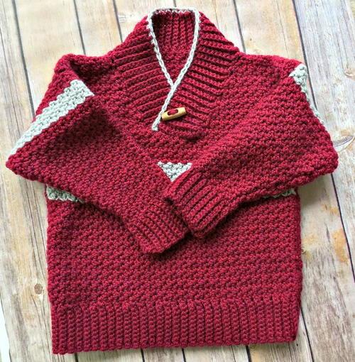 7c79d8c356cf Boy s Shawl-Collared Sweater