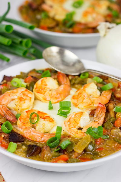 Creamy Charleston Shrimp and Grits