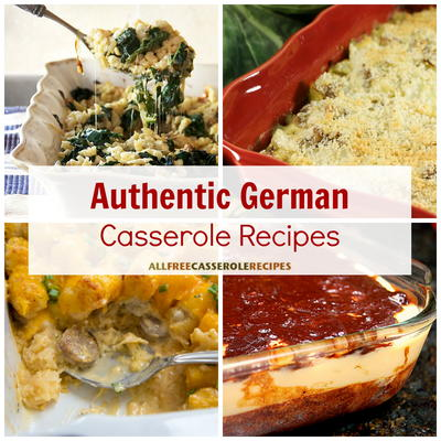 12 Authentic German Casserole Recipes