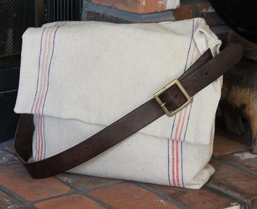 Feed Sack Messenger Bag Allfreesewing Com