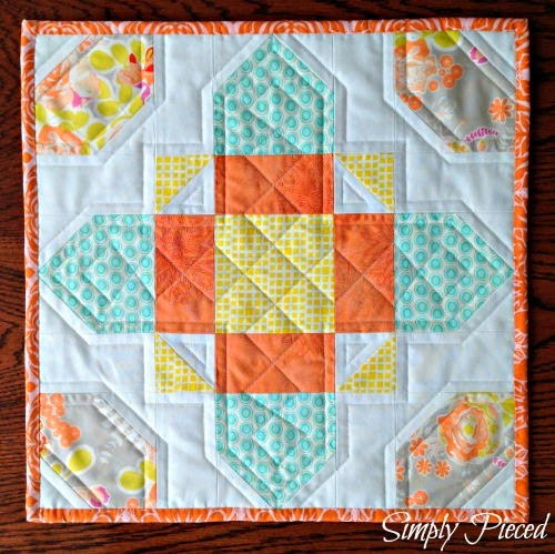 Celtic Cross Mini Quilt Tutorial