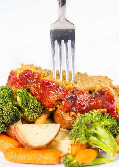 How to Make Meatloaf on a Sheet Pan
