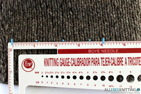 What is Knitting Gauge?