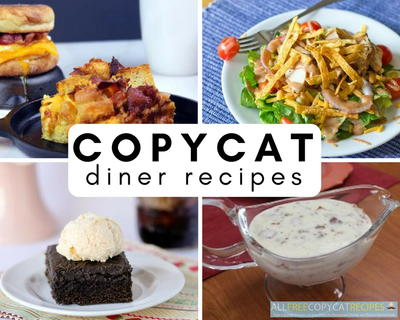 Copycat Diner Recipes