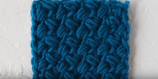 How To Crochet The Bean Stitch Allfreecrochet Com