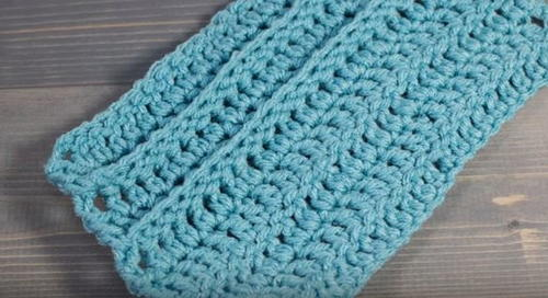 Backpost Double Crochet Stitch