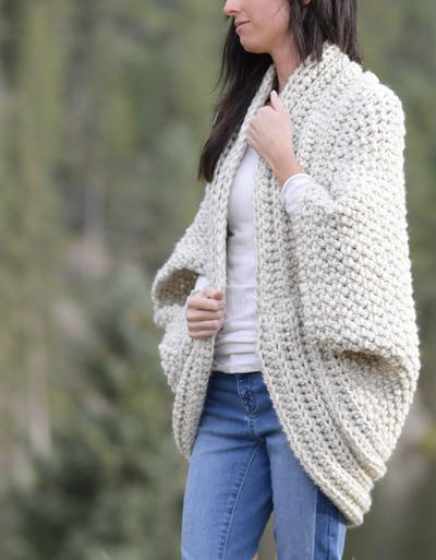 4240146a6f59 Colder-Weather Crochet Cardigans. Cozy Blanket Cardi