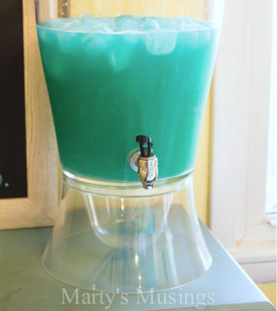 Frozen-Inspired Blue Punch Recipe