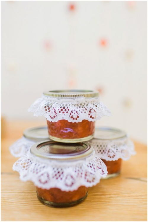 DIY Freezer Jam Wedding Favors