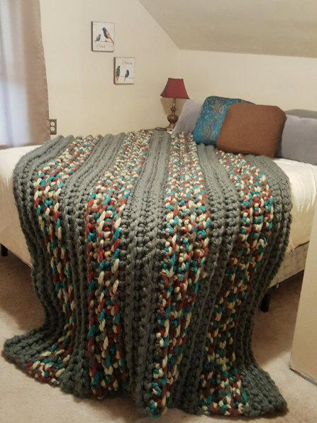 Cozy Colossal Crochet Blanket
