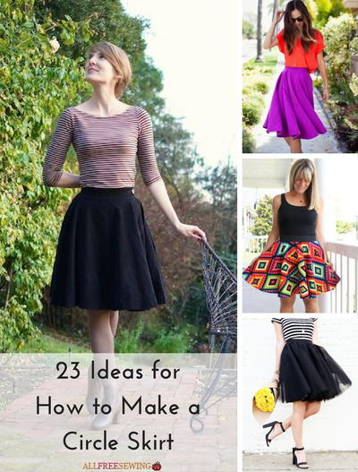 23 Ideas for How to Make a Circle Skirt