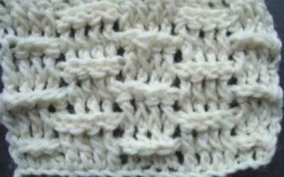 How to Crochet a Basketweave Stitch