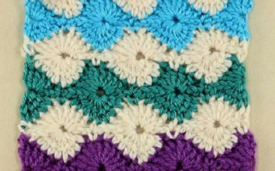 How to Crochet: Catherine Wheel Stitch