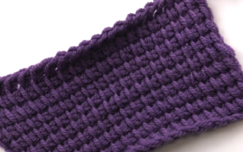 How to Crochet: Tunisian Stitch