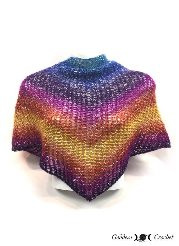11 Triangle Shawl Knitting Patterns Free Allfreeknitting Com