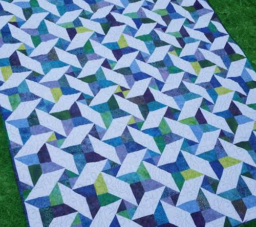 Joys Star Jelly Roll Quilt
