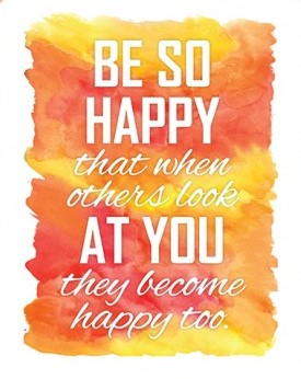 Be Happy Printable Quote