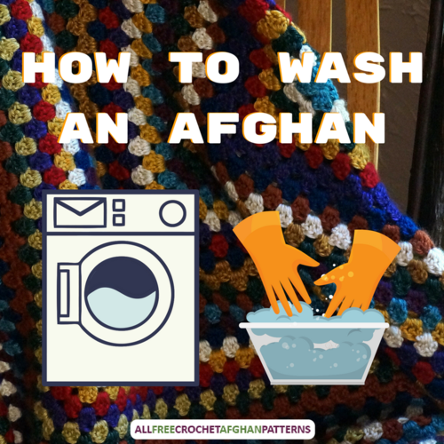 How to Wash an Afghan