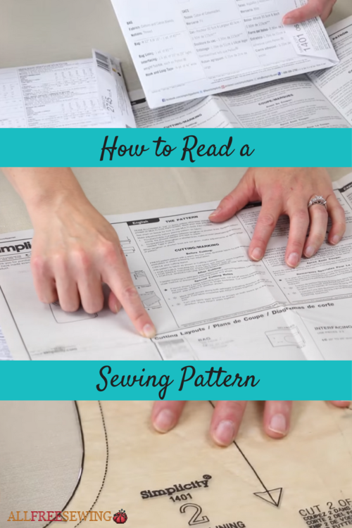 how to understand sewing patterns
