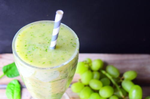 Grape & Spinach Smoothie