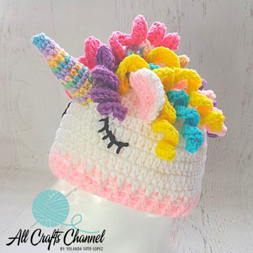 1fb793527b5 Unicorn Hat