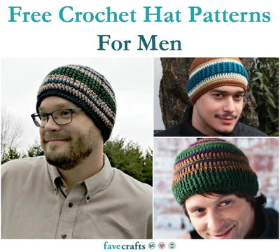 6a8482b62da 18 Free Crochet Hat Patterns For Men