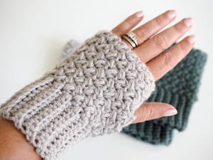 Elizabeth Stitch Fingerless Crochet