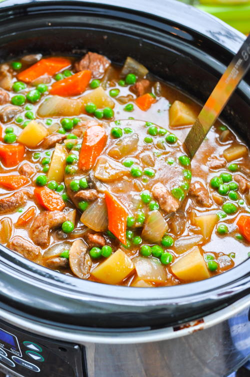 Farmhouse Slow Cooker Beef Stew