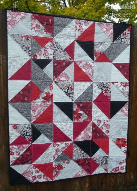 Simple Christmas Fat Quarter Quilt