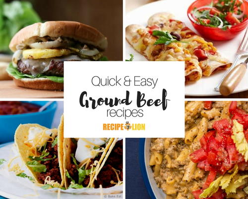 Quick Ground Beef Recipes