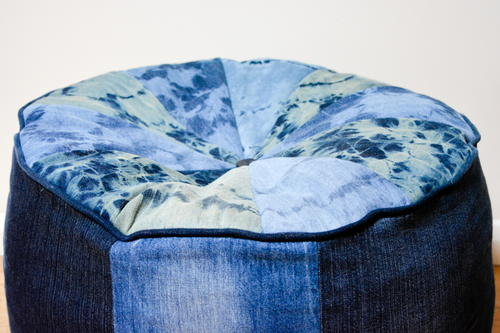 Denim Large Floor Cushion