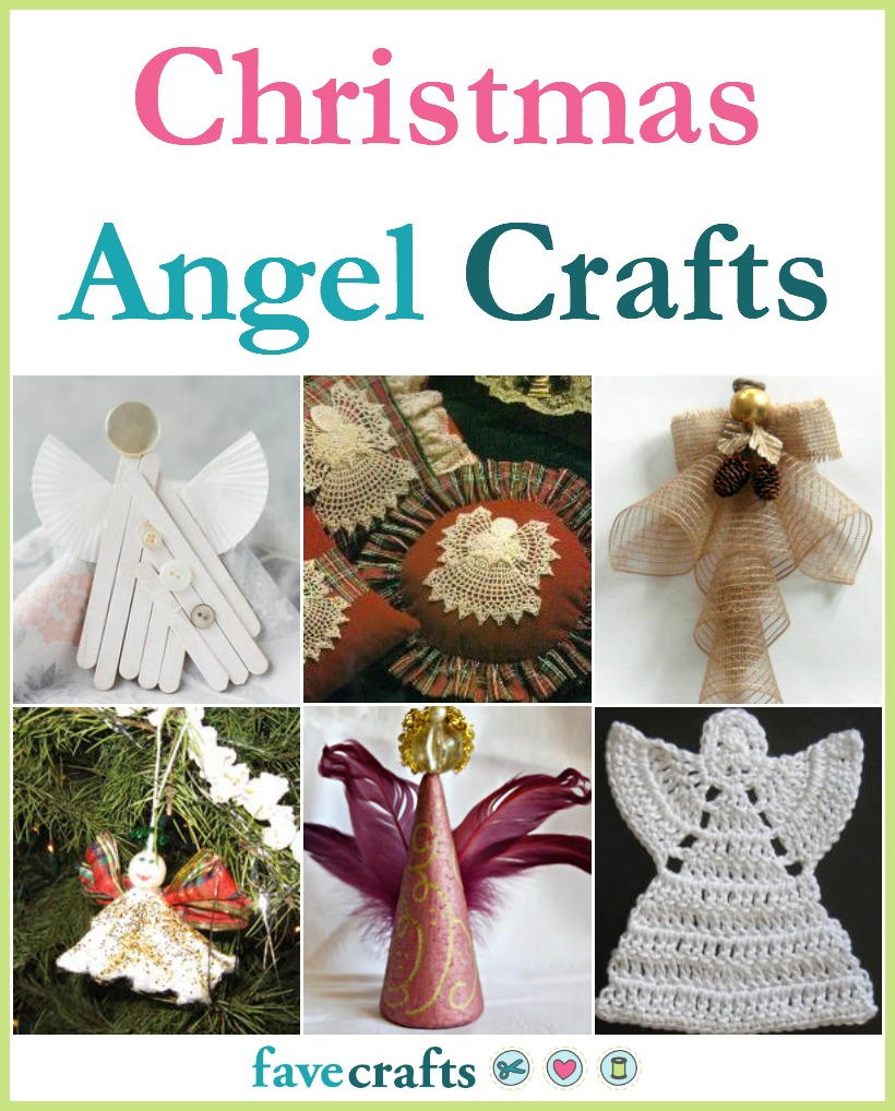 Angel Decorations To Make: 34 Angel Crafts To Make For Christmas