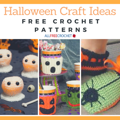 Halloween Craft Ideas: 23 Free Crochet Patterns