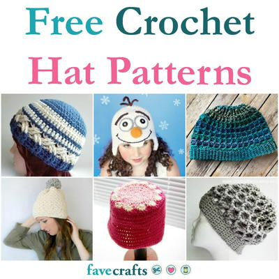 48 Free Crochet Hat Patterns Favecraftscom