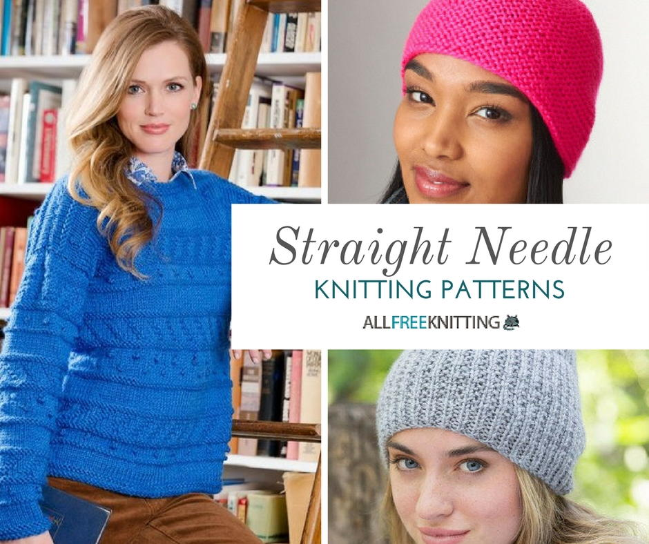26 Straight Needle Knitting Patterns You Need ...