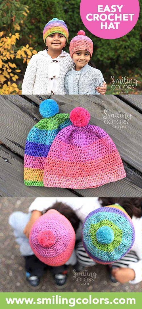 Caron cupcakes crochet hat  ef0e464fa8f