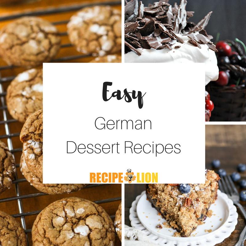 9 Easy German Dessert Recipes | RecipeLion.com